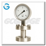 High quality all stainless steel I shape diaphragm pressure guages