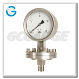 Diaphragm capsule low pressure gauges with all stainless steel material