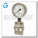 4 Inch all stainless steel diaphragm differential gauges